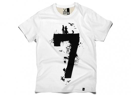 KAFT Design - RAKAMI7Â Tshirt #typography #tshirt #tee #clothing #number #five #numerical #tee design