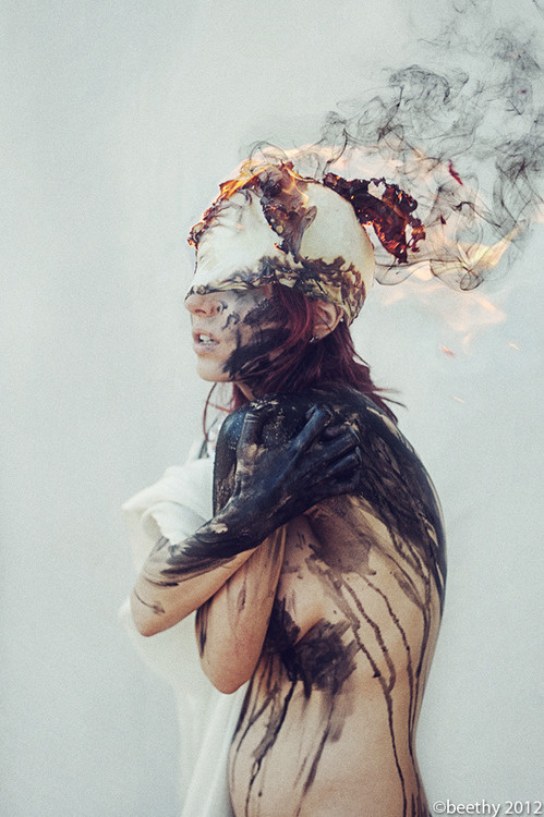 Anxiety by Beethy #inspiration #digital #art