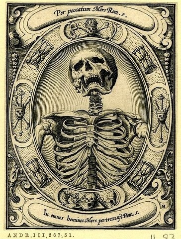 skeleton #engraving #skeleton #death