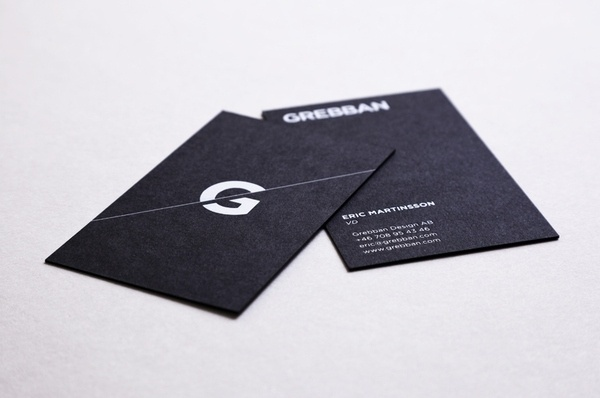 Grebban on the Behance Network #paper #simplicity #cards #business