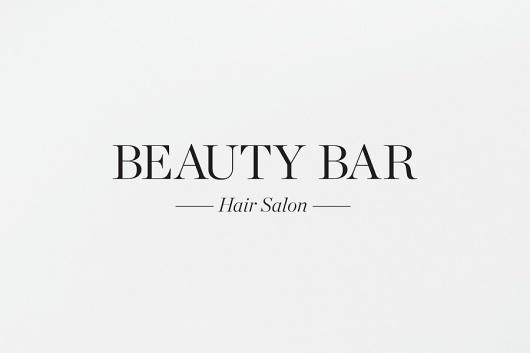 Beauty Bar - SAVVY #logo #identity #branding #typography