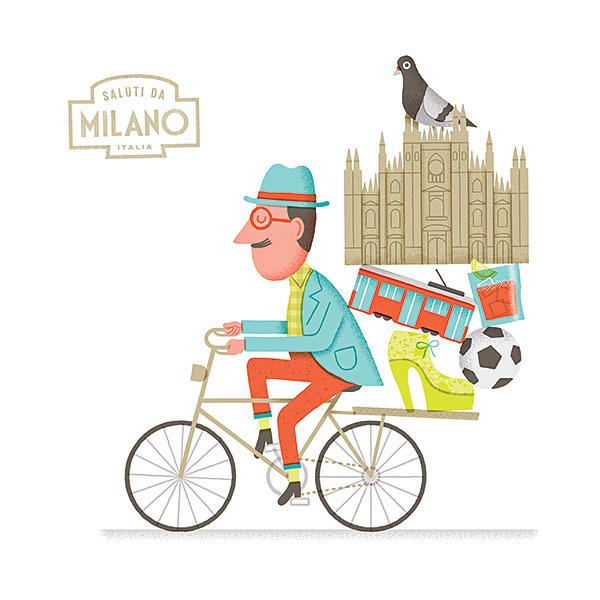 Biking in Milan - Mauro Gatti's House of Fun