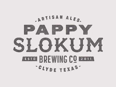 Dribbble - Pappy Slokum by Ryan Feerer #type #lettering #logo