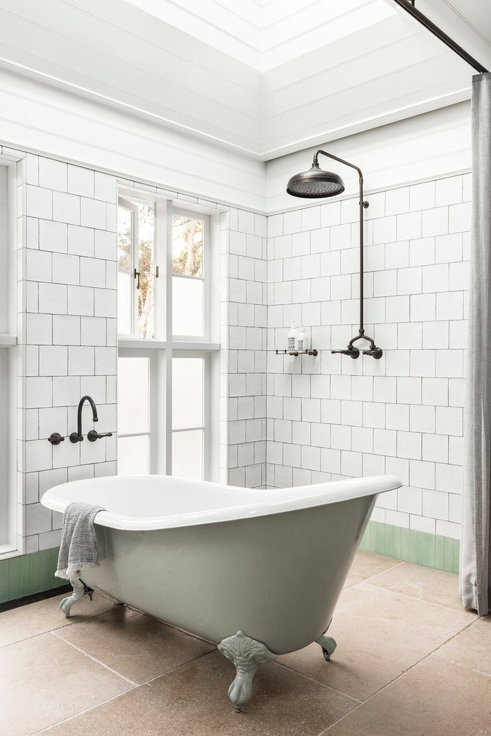 bathroom, Alteration and Addition of an Existing Victorian Cottage