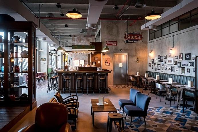 Bu.Co Restaurant – Industrial Vibes / Visual Display
