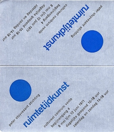 Flyer Design Goodness - A flyer and poster design blog: Wim Crouwel - selected graphic designs and prints from museum archive #crouwel #wim
