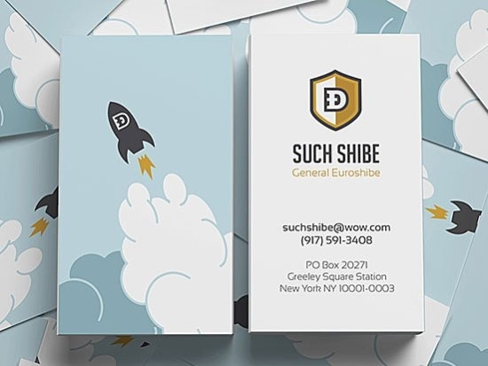 Such Shibe Business Card