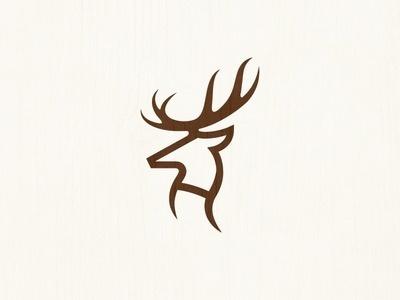 Deer mark #logo #deer #tsanev