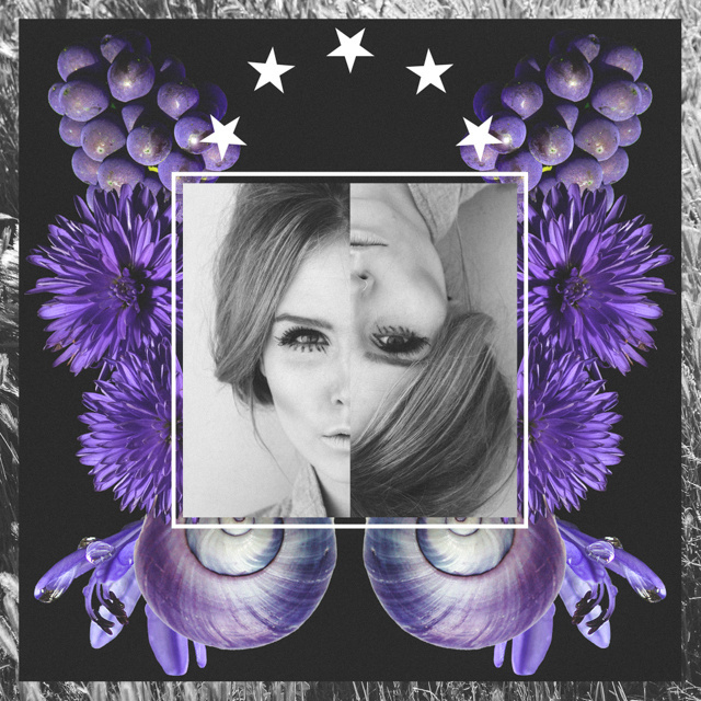 The Psychology of Color: Violet #design #graphic #violet #art #fashion #rainbow #collage