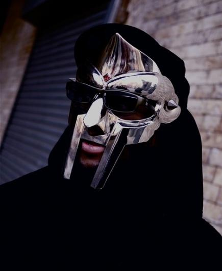 Every reform movement has a lunatic fringe #doom #mf #portrait #mask #metal #face