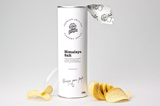 Looks like good Packaging Design by Niklas Hessman #packaging #pringles