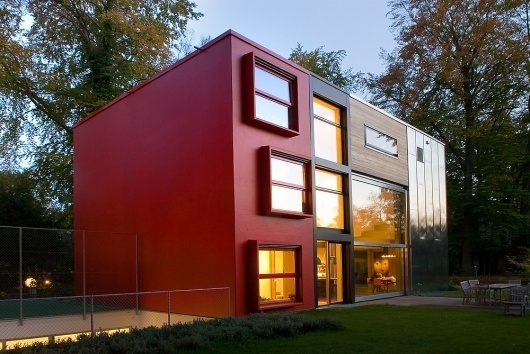 House Of The Week: MVRDV's Barcode Villa Is 9 Houses In 1 | Co.Design: business + innovation + design #architecture #house