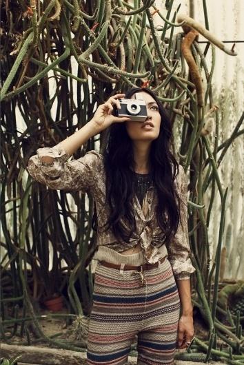 Buamai -   Picture   #camera #retro #girl #photo