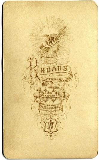 Typography / Rhoads Photo Back, Type #type #vintage