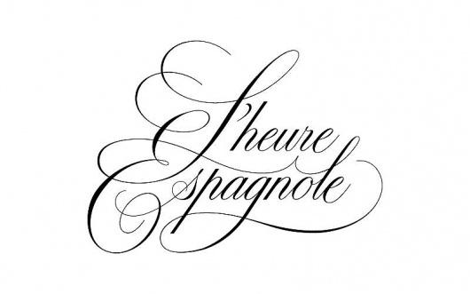 L'heure Expangole Logotype #drawn #script #hand