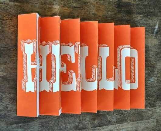 Hello / Goodbye 3D poster by Manvsink on Etsy #poster #stairs #hello