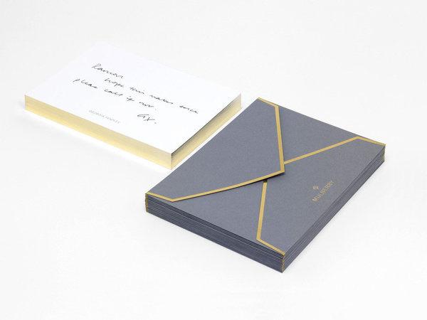Mulberry_managementnotecards #edge #coloring #envelope #gold #stationery #foil