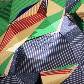 DAWNSHAPE /// PASTE PRISM #dawnshape #remixes #paste #cardboard #collage #paper #prism