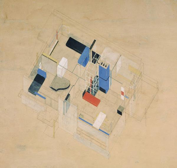 Schroder House #illustration #plan #schroder #rietveld