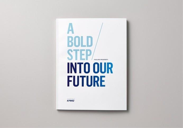 Best Awards - Saatchi & Saatchi Design Worldwide. / KPMG Fuelling Prosperity #print #layout #design #editorial