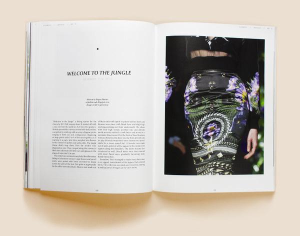 ONE Magazine - Issue No. 3, Nicole Gavrilles #fashion #print #magazine
