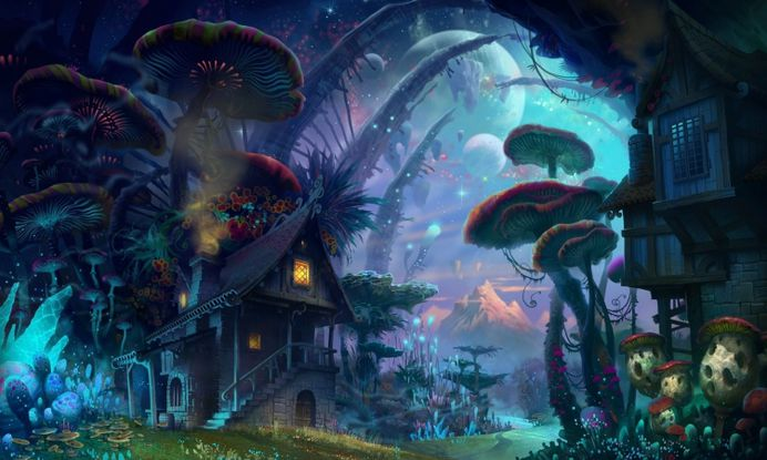 Fantasy Forest Home Hd Free Wallpapers – WallpapersBae
