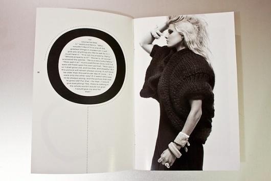 WILDE Magazine on Typography Served #white #black #photography #and #wilde #magazine #typography