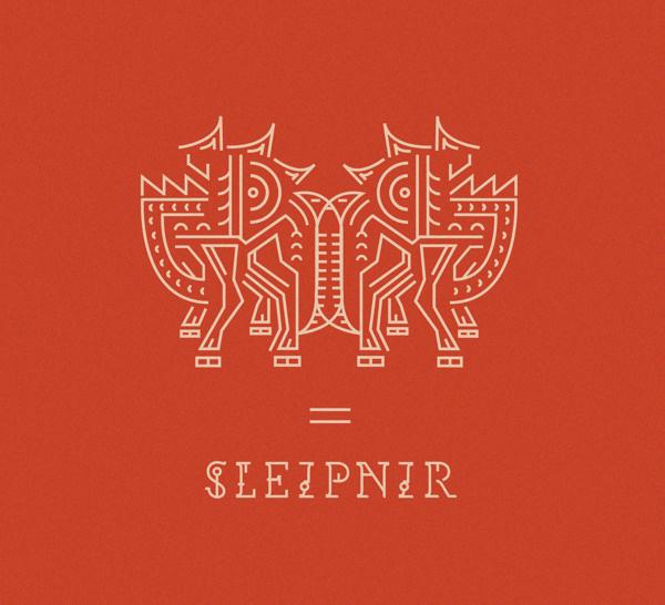Sleipnir #illustration #design #graphic #typography