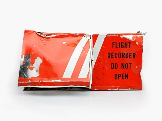 but does it float #box #recorder #orange #flight