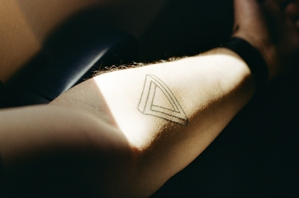 All sizes | 1st tattoo | Flickr - Photo Sharing! #penrose #tattoo #triangle