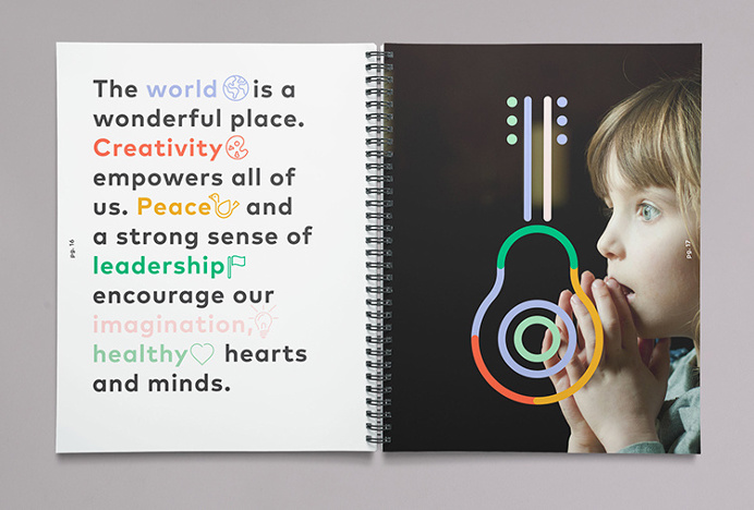 World Children's Festival by Eric Amaral Rohter #graphic #design #illustration #print #colourful