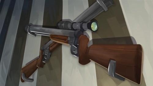 Leonel Toribio - Blog #rifle #scope #digital #painting #wallpaper