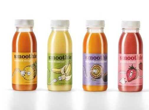 Smoothies #packaging