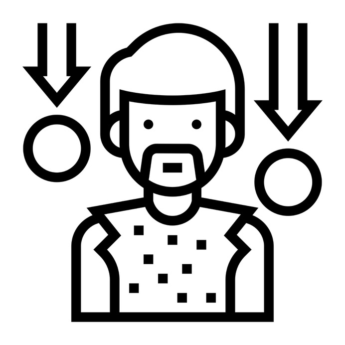 See more icon inspiration related to poor, character, indigent, pauper, charity, boy, avatar, man, person, people and social on Flaticon.