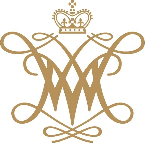 William and Mary cypher #crown #branding #monogram #logo #cypher