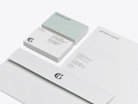 Winkreative Greatest Good #stationary #branding #typography