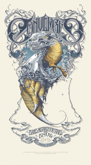 aaron-horkey2 | Fubiz™ #converge #aaron #illustration #horkey #poster
