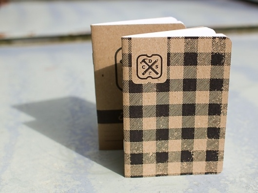 CDS makes pocket notebooks for a design tradeshow » Scout Books #notebook #paper #vintage