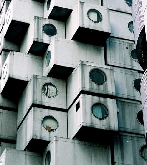 Architecture Photography: AD Classics: Nakagin Capsule Tower / Kisho Kurokawa - naka19 (110774) – ArchDaily