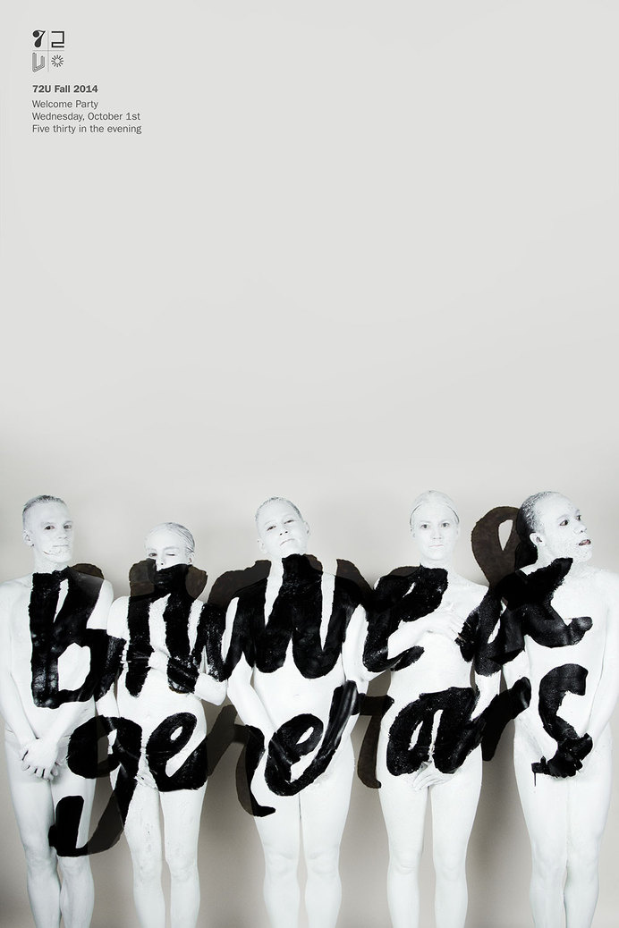 Brave & Generous #poster #lettering