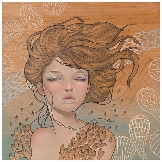 Paintings by Audrey Kawasaki | 123 Inspiration #audrey #kawasaki #illustations #paintings