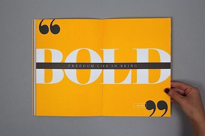 Editorial Design Inspiration: 99U Quarterly Mag No.4 #spread #design #editorial #magazine