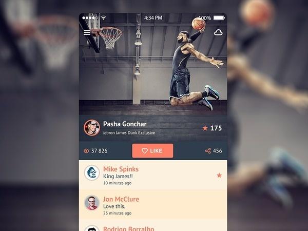 Mobile Design Inspiration – iOS 7 iPhone app UI design #ios7 #design #ui #app #mobile