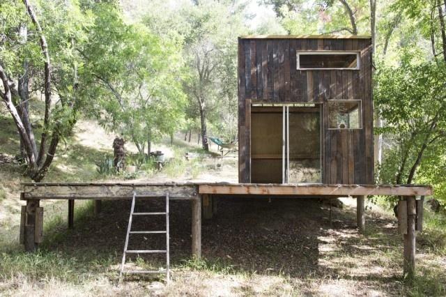 Cabin in Topanga6 #interior #design #decor #wood #architecture #deco #cabin #decoration
