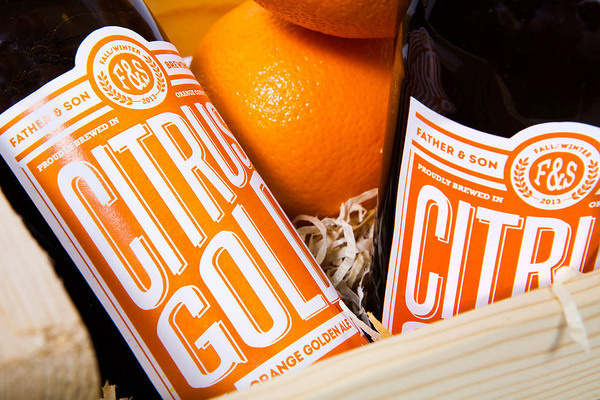 lovely package citrus gold 4 #design #graphic #package #bottle
