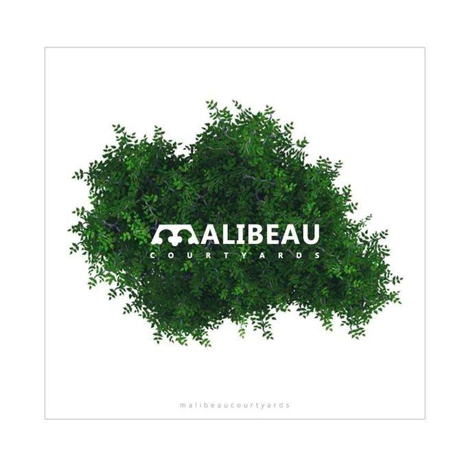 Logo Design #branding #negative #courtyard #design #space #logo #green
