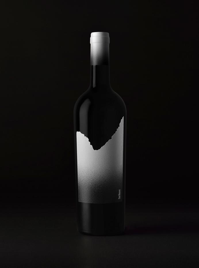 Wine bottle. Boquera by Estudio Maba