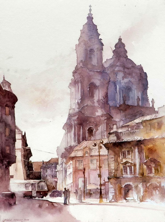 watercolor #skill