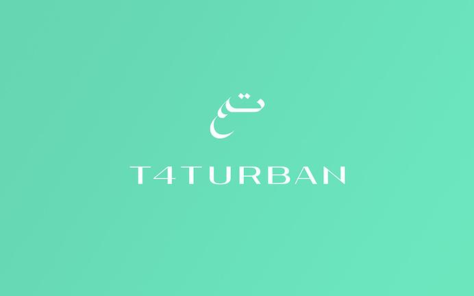 T4Turban   Anagrama #logo