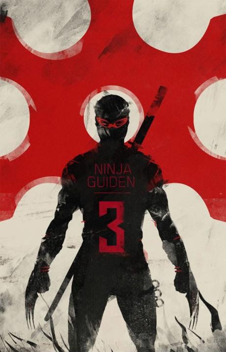 Ninja Guiden 3 Brand Design & Advertising   BASIC™ Agency   Branding, Design & Advertising #ninja #illustration #advertising